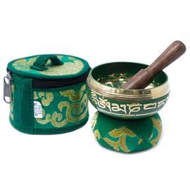 Mini Cuenco Tibetano Verde
