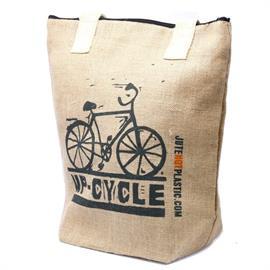 Bolsa de Yute Ecológico Bicicleta