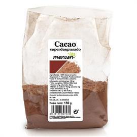 Cacao en Polvo Superdesgrasado en Polvo 0,3% 150g