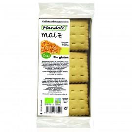 Galletas de Maíz Sin Gluten Bio 160g