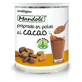Preparado de Cacao en Polvo con Stevia Bote Bio 375g