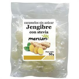 Caramelos de Jengibre con Stevia 50g