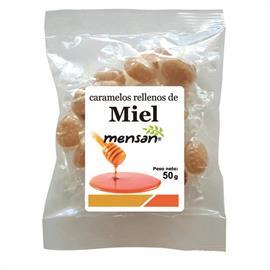 Caramelos Rellenos de Miel 50g