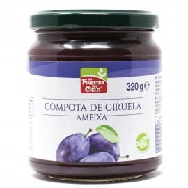 Compota de Ciruela Bio 320g
