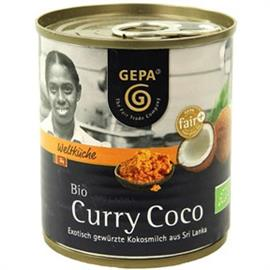 Leche de Coco al Curry con Especias Bio 200ml