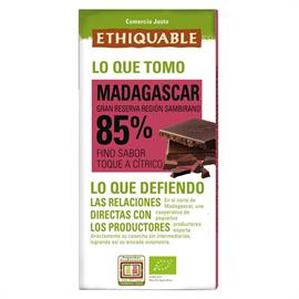 Chocolate Negro 85% Madagascar Bio 100g