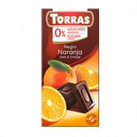 Chcocolate Negro con Naranja Sin Azúcar Classic Convencional 75g