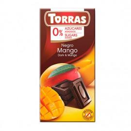 Chcocolate Negro con Mango Sin Azúcar Classic Convencional 75g