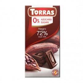 Chcocolate Negro 72% Sin Azúcar Classic Convencional 75g