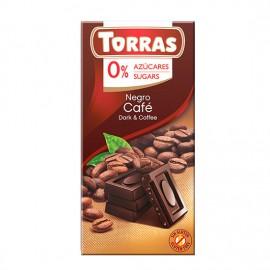 Chcocolate Negro con Café Sin Azúcar Classic Convencional 75g