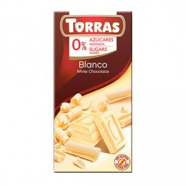 Chcocolate Blanco Sin Azúcar Classic Convencional 75g