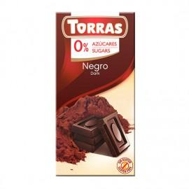 Chcocolate Negro 51% Sin Azúcar Classic Convencional 75g