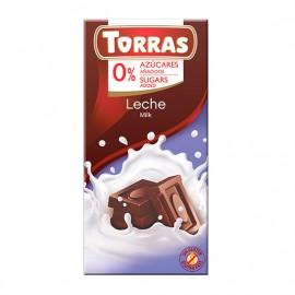 Chcocolate con Leche Sin Azúcar Classic Convencional 75g