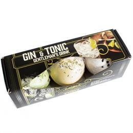 Pack 3 Bombas de Baño Gin Tonic