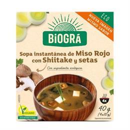 Sopa Vegana de Miso con Setas Bio 40g