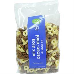 Mix Aros de Chocolate y Miel Sin Gluten Bio 160g