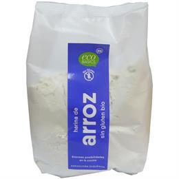Harina de Arroz Integral Sin Gluten Bio 500g