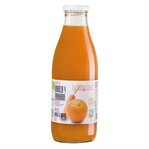 Zumo de Zanahoria y Naranja Vitaldibe Bio 1L