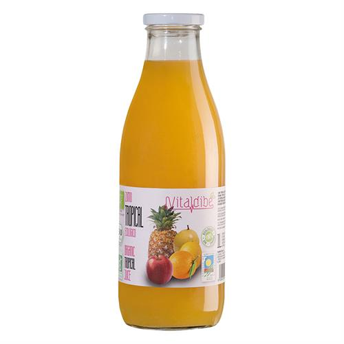 Zumo Tropical Vitaldibe Bio 1L