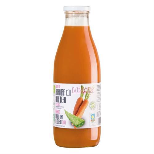 Zumo de Zanahoria con Aloe Vitaldibe Bio 1L