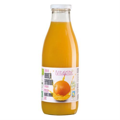 Zumo de Naranja Exprimida Vitaldibe Bio 1L