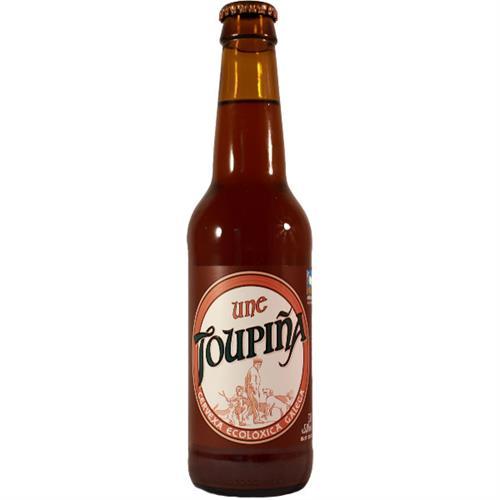 Cerveza Tostada Artesana Topiña UNE Bio 330ml