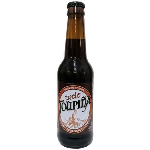 Cerveza Negra Artesana Topiña TRELE Bio 330ml