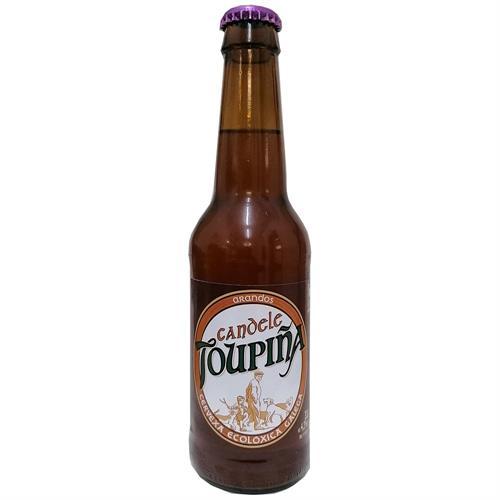 Cerveza con Arándanos Artesana Topiña CANDELE Bio 330ml