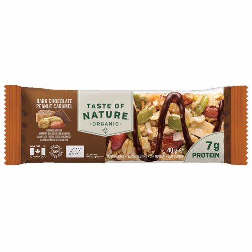 Barrita de Protein de Chocolate y Caramelo Bio Taste of Nature 40g
