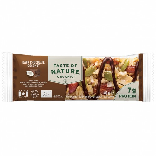 Barrita de Protein de Chocolate y Coco Bio Taste of Nature 40g