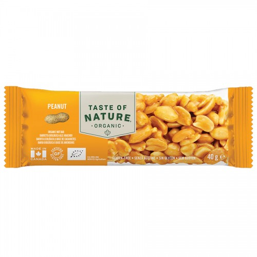 Barrita de Cacahuete Bio Taste of Nature 40g