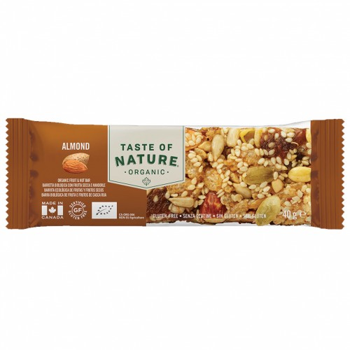 Barrite de Almendras Bio Taste of Nature 40g