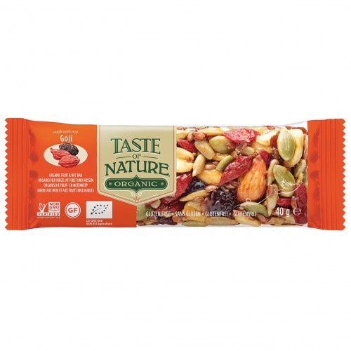 Barrite de Goji Bio Taste of Nature 40g