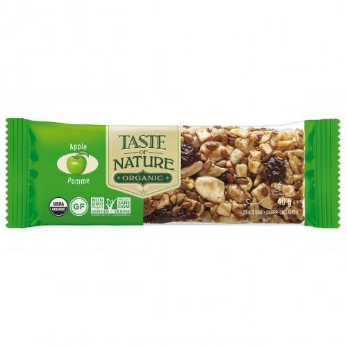 Barrita de Manzana y Canela Bio Taste of Nature 40g