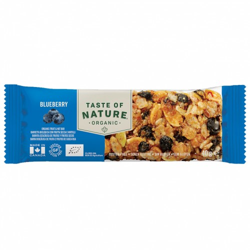 Barrita de Arándanos Bio Taste of Nature 40g