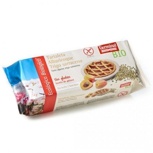 Tartaleta de Albaricoque y Trigo Sarraceno Sin Gluten Bio 200g