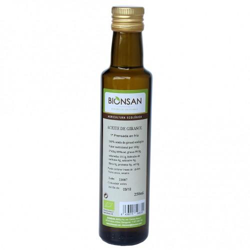 Aceite de Girasol Extra Virgen Bio 250ml
