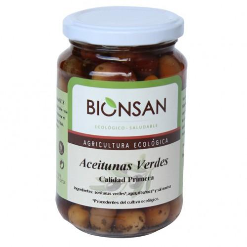 Aceituna Verde Bio 200g