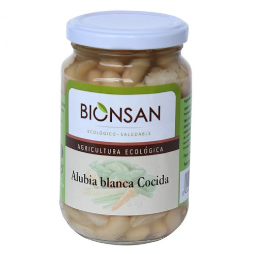 Alubias Blancas Cocidas Bio 220g