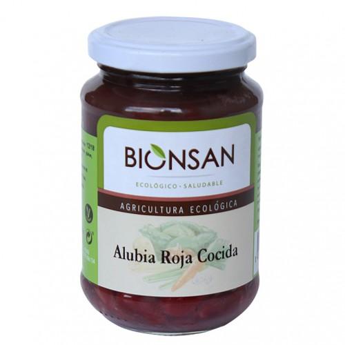 Alubias Rojas Cocidas Bio 220g