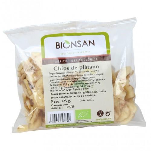 Chips Plátano Bio 125g