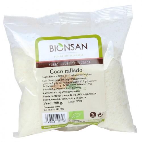 Coco Rallado Bio 200g