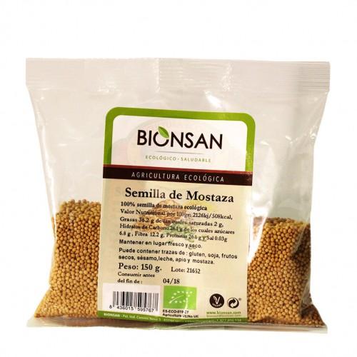 Semillas de Mostaza Bio 150g