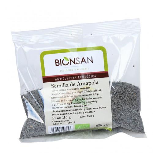 Semillas de Amapola Bio 150g