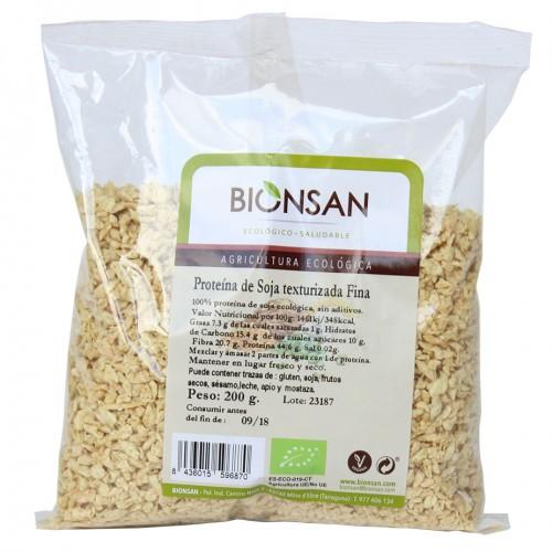 Proteína de Soja Texturizada Fina Bio 200g