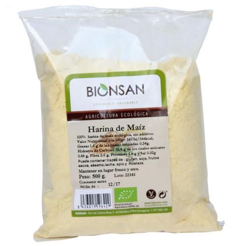 Harina de Maiz Bio 500g