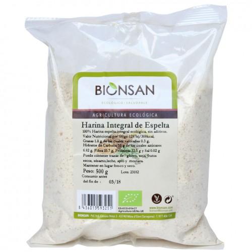Harina Espelta Integral Bio 500g