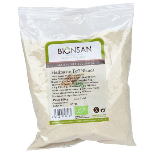 Harina Blanca de Teff Bio 500g