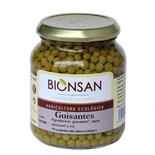 Guisantes Cocidos Bio 350g