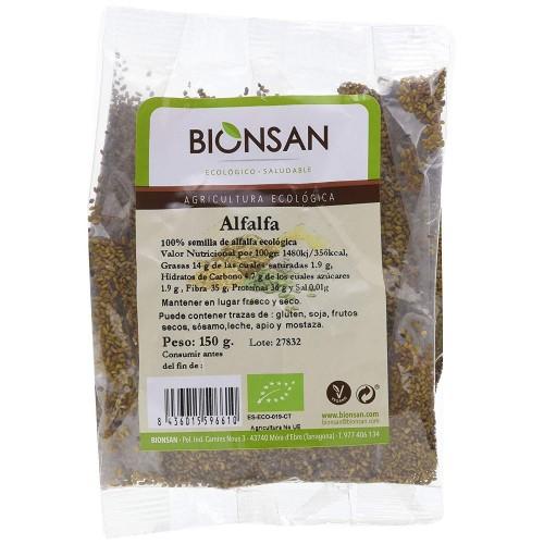 Semillas de Alfalfa Bio 150g